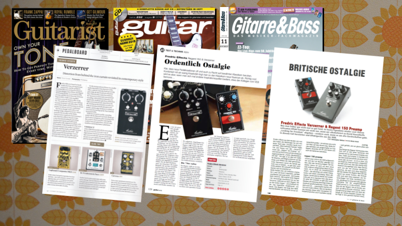 <span class='slidehead'>Verzerrer and Regent 150 in the mags!</span>