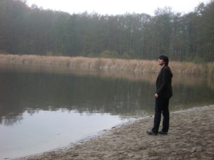 me by a lake, Grünwald, Berlin