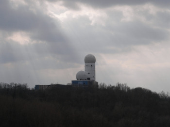 teufelsberg radome on sunday 9th march 2008